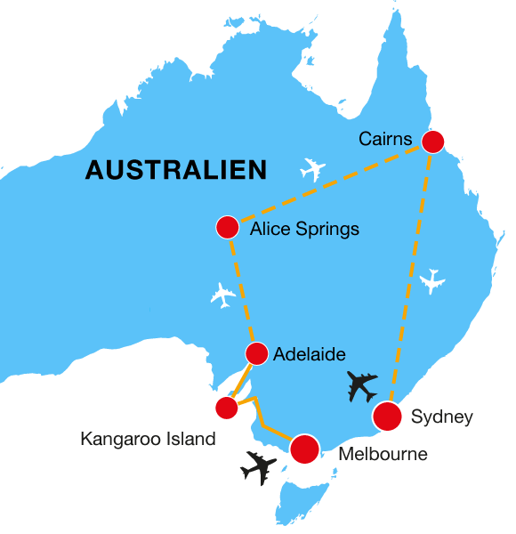 Australien Rundreise Ozeanien