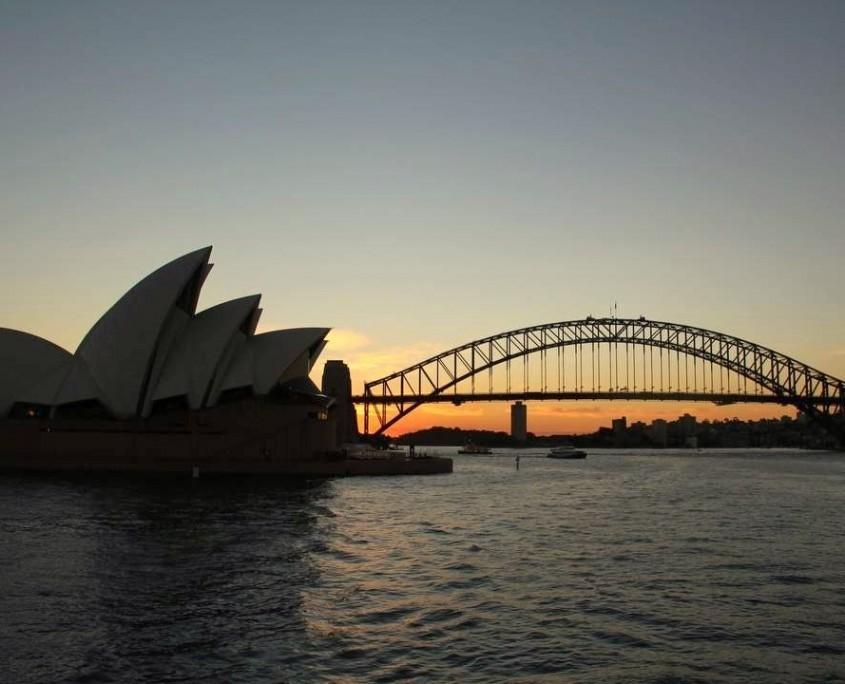 Sydney Opera und Harbour Bridge - die Wahrzeichen Sydneys