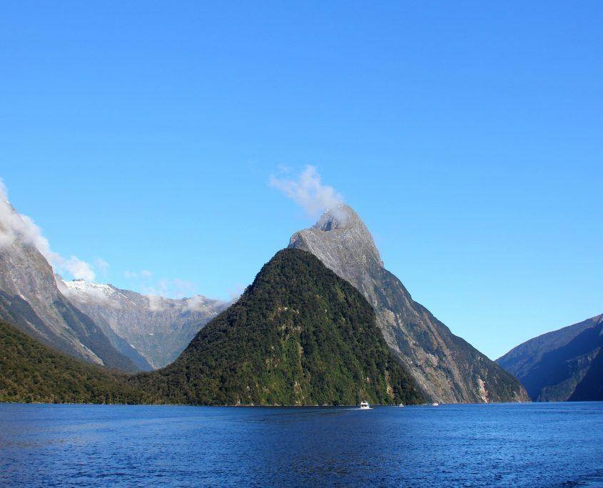 Bootsfahrt auf dem Milford Sound