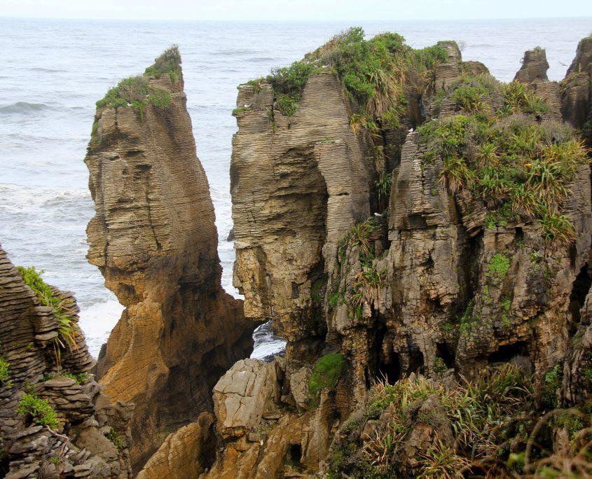 Pancake Rocks an der Westküste