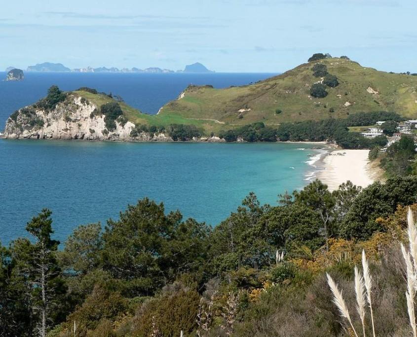 Schöne Küstenlandschaft