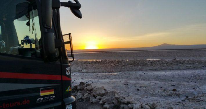 El Negrito auf dem Salar de Atacama