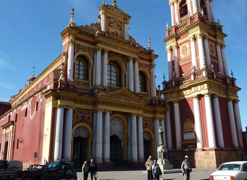 Iglesia San Fancisco in Salta