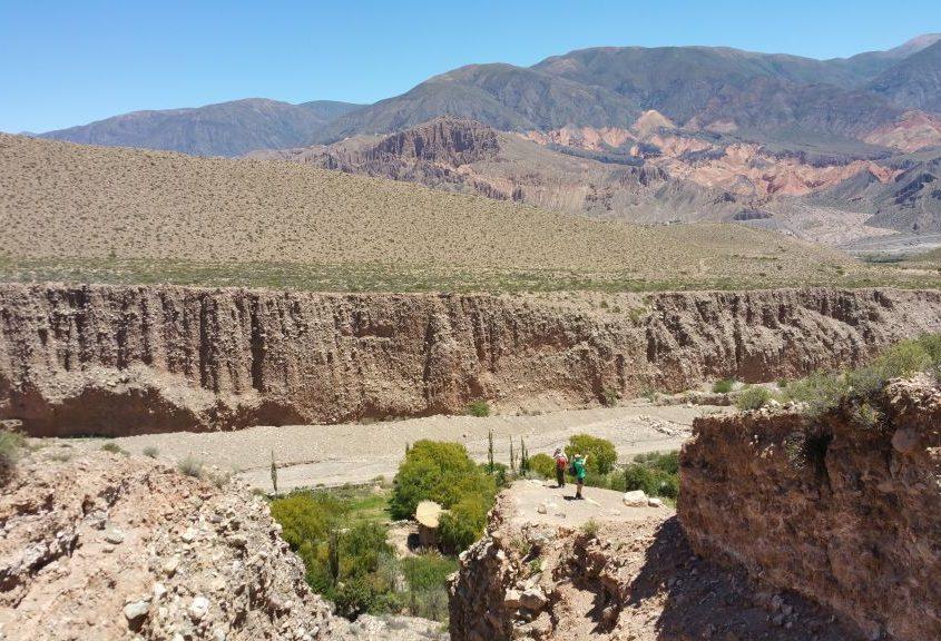 Landschaft bei Humahuaca