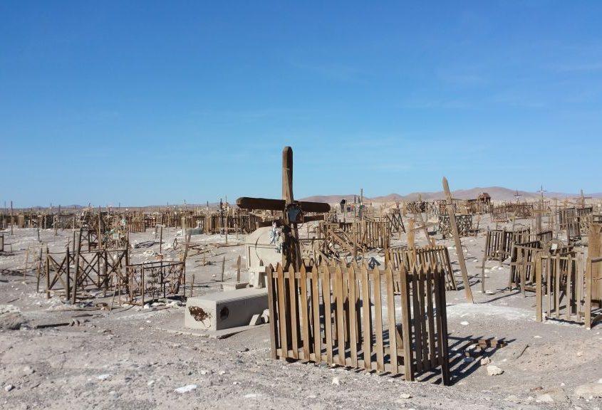 Salpeterfriedhof in der Atacama